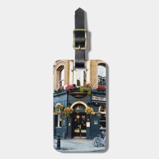 De Bar van Londen Bagagelabel