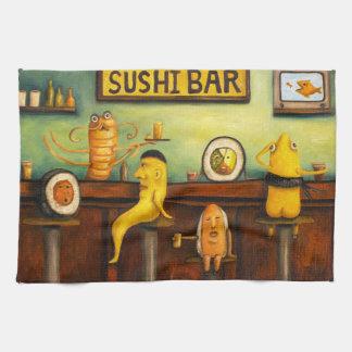 De Bar van sushi Theedoek