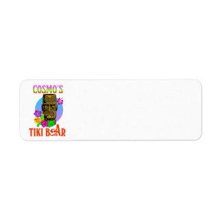 De Bar van Tiki van Cosmo Etiket