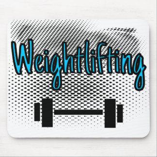 De Bar van Weightlifting Muismatten