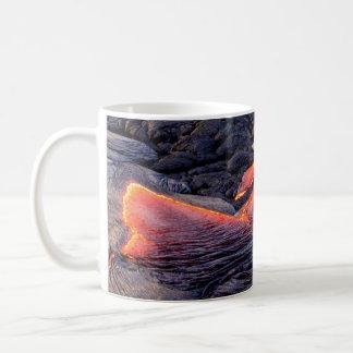 De basaltachtige Stroom van de Lava Koffiemok