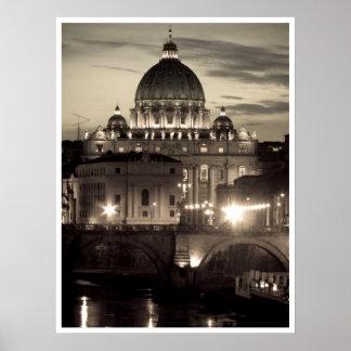 De Basiliek van heilige Peter Poster