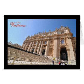 De basiliek van San Pietro in Vatikaan, Rome, Kaart