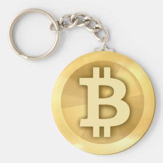 De BasisKnoop Keychain van Bitcoin Sleutelhanger
