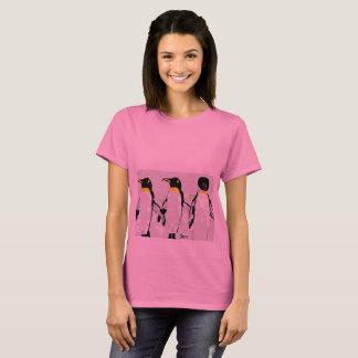 De BasisT-shirt Penquins van de vrouw T Shirt