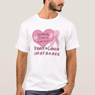 De BasisT-shirt van de Overlevende van Kanker van T Shirt