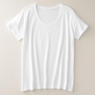 De BasisT-shirt van de plus-Grootte van vrouwen Grote Maat T-shirt