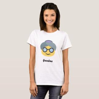 De BasisT-shirt van Emoji van de oma T Shirt