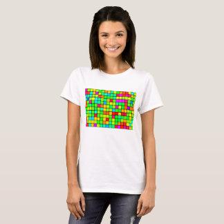 De BasisT-shirt van Retro Levendige Vrouwen van T Shirt