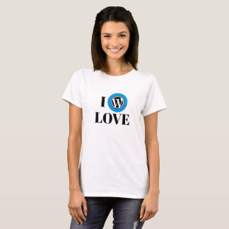 De BasisT-shirt van WordPress T Shirt