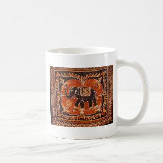 De Batik van de olifant Koffiemok