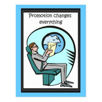 De bedrijfs vrienden, Bevordering verandert alles Briefkaart