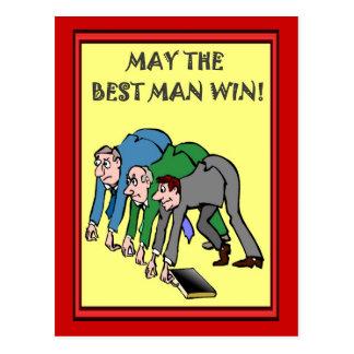 De bedrijfs vrienden, Mei de getuige winnen Briefkaart