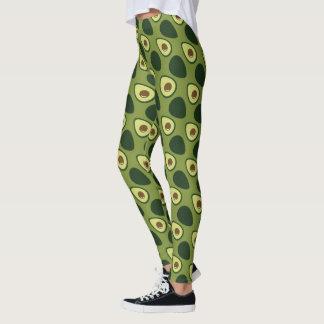 De Beenkappen van de avocado Leggings