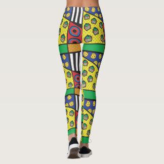 De Beenkappen van de Bakkerij van het pop-art Leggings