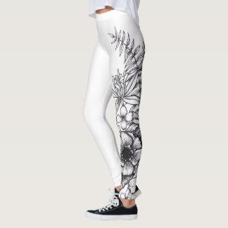De Beenkappen van de Druk van het Tattoo van de Leggings