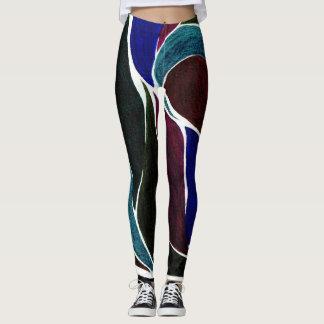 De Beenkappen van de kleur van de Draai (Donkerste Leggings