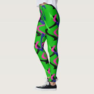 de beenkappen van de sportenslijtage leggings