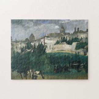 De begrafenis - Édouard Manet Legpuzzel