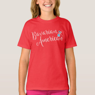 De Beierse Amerikaanse T-shirt van Harten