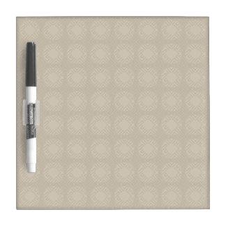 De beige Droge Vierkanten van de Schaduw wissen Dry Erase Whiteboards