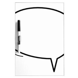 De Bel van de toespraak - voeg uw eigen tekst toe! Whiteboard