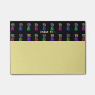 De Belangrijke Nota's van de Pop van de ananas Post-it® Notes