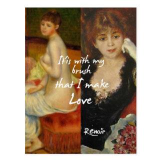 De belangrijkste bron van de liefde in de briefkaart