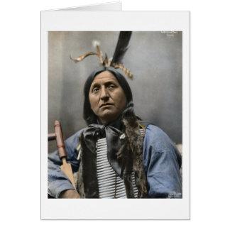 De belangrijkste Linkerhand draagt Sioux Wijnoogst Kaart