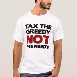 De belasting Gulzig bezet de T-shirt van Wall