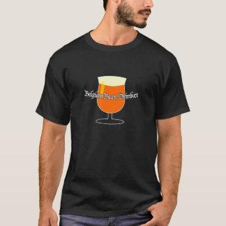 De Belgische Drinker van het Bier T Shirt
