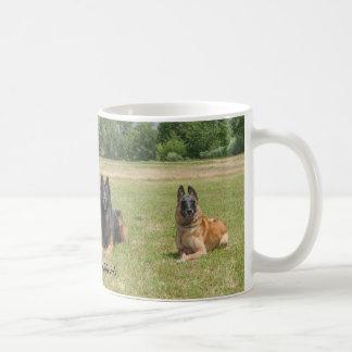 De Belgische Mok van de Koffie van Herders