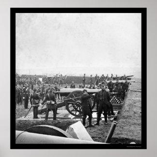 De Bemanning die van het Pistool van Arlington 186 Poster