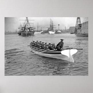 De Bemanning van de boot Poster