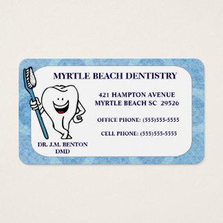 De Benoeming en het Visitekaartje van de tandarts Visitekaartjes