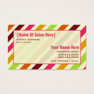 De Benoeming van de Salon van Cosmetologist van de Visitekaartjes