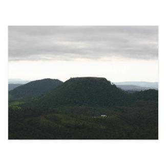 De Berg Toowoomba van de Bovenkant van de lijst Briefkaart