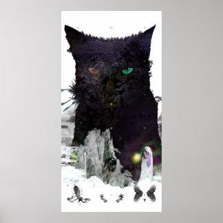 De Berg van de kat Poster