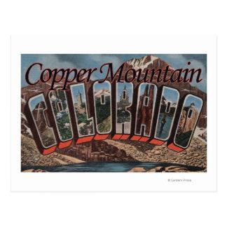 De Berg van het koper, Colorado - de Grote Scènes Briefkaart