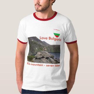 De berg van Rila - Liefde Bulgarije van de zeven T Shirt
