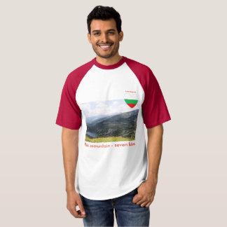 De berg van Rila - Liefde Bulgarije van de zeven T Shirts
