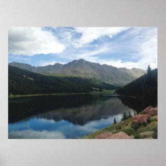 De Bergen van Colorado en het Poster van de