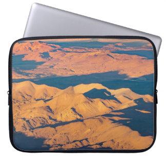 De Bergen van de Andes verlaten de LuchtScène van Computer Sleeve