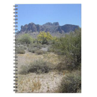 De Bergen van het bijgeloof Notitieboek