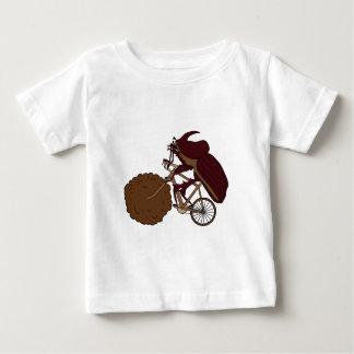 De Berijdende Fiets van de Kever van de mest met Baby T Shirts