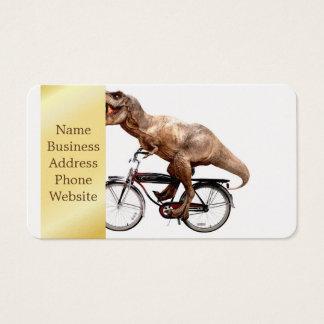 De berijdende fiets van Trex Visitekaartjes