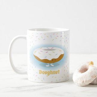 De berijpte Doughnut met bestrooit de Mok van |