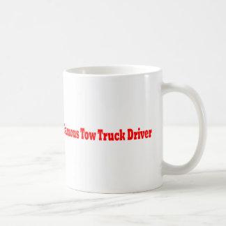 De beroemde Vrachtwagenchauffeur van het Slepen Koffiemok