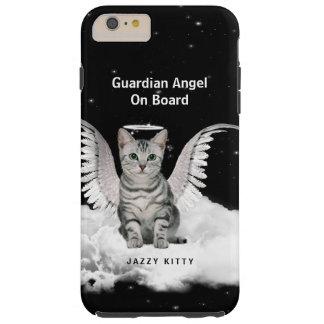 De Beschermengel van de Kat van de gestreepte kat Tough iPhone 6 Plus Hoesje