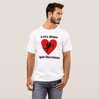 De Besluiten van de Cupido T Shirt